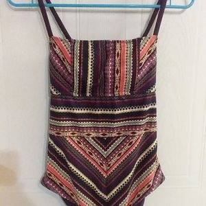 New Mossimo Small Striped Swim suit